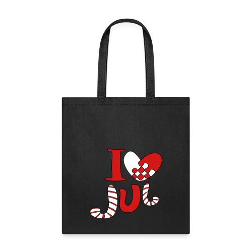 i love jul - Tote Bag
