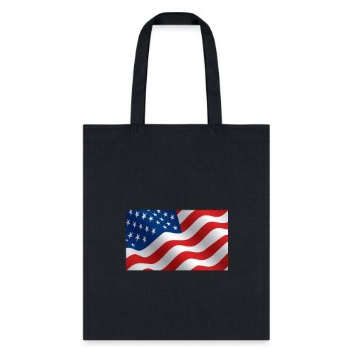 USA Flag - Tote Bag