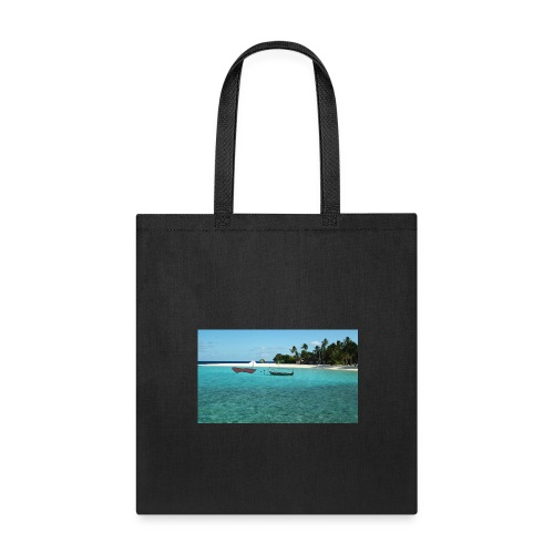 clear water of the beach - Tote Bag