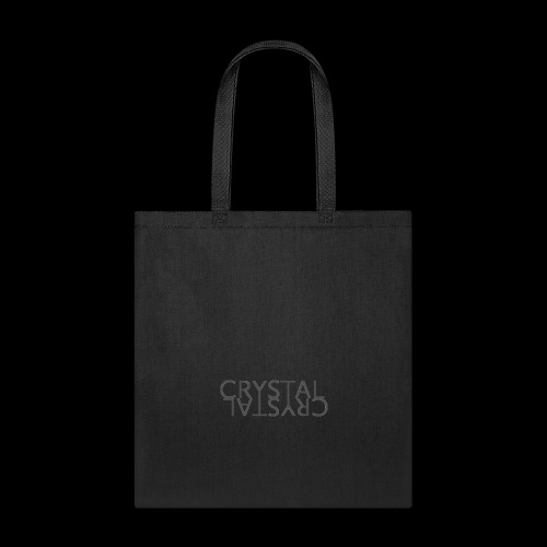 Crystal Logo Black - Tote Bag