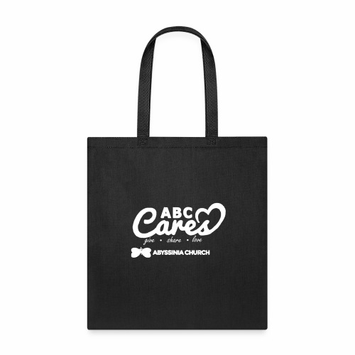 ABC Cares (Reversed) - Tote Bag