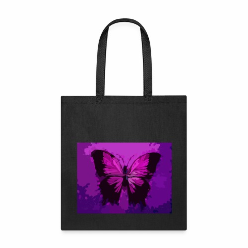 Fuchsia Pink Butterfly - Tote Bag