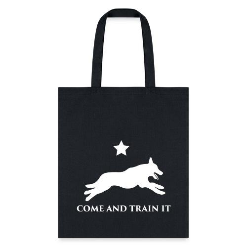 Come And Train It K9 - Tote Bag