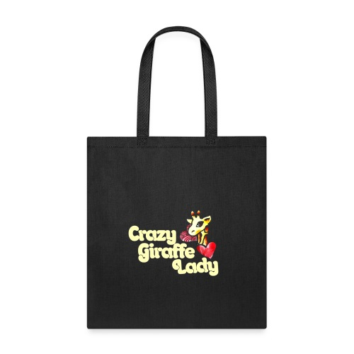 Crazy girciffe lady - Tote Bag