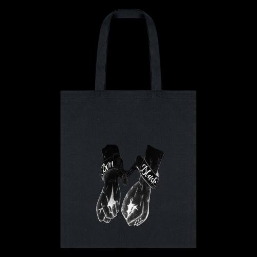 Born Black Logo - Tote Bag