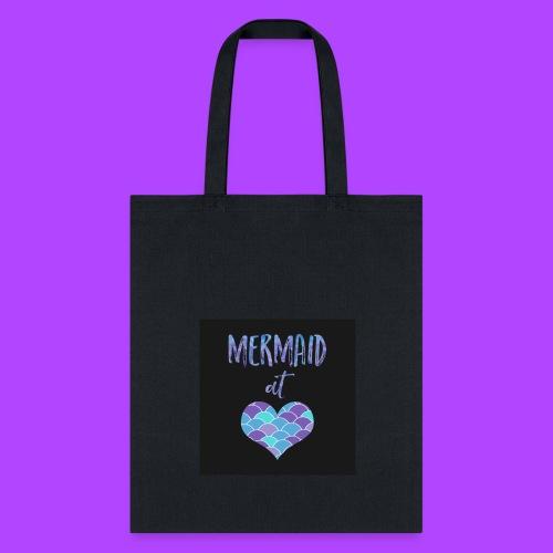 mermaid at heart - Tote Bag