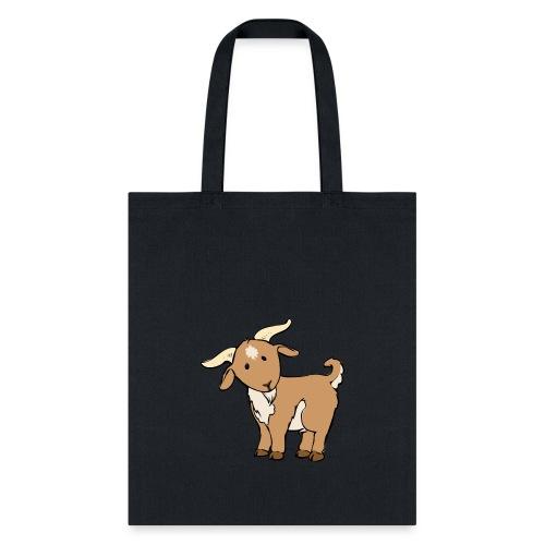 Cute Brown Goat - Tote Bag