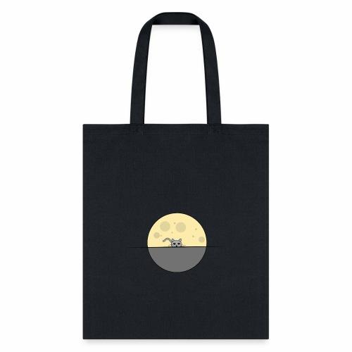 moon cat - Tote Bag