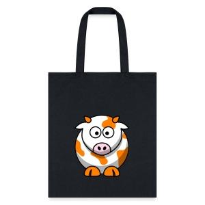Orange Cow - Tote Bag
