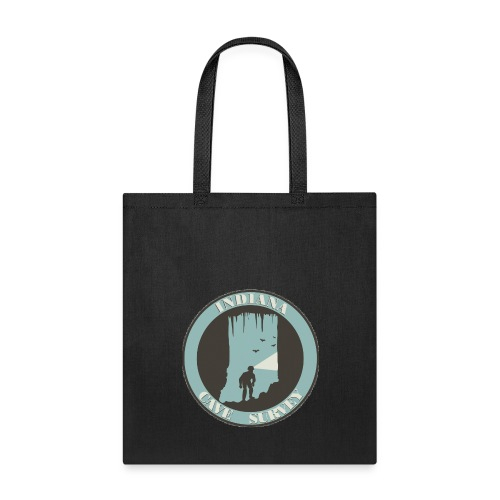 Indiana Cave Survey Logo v1 - Tote Bag