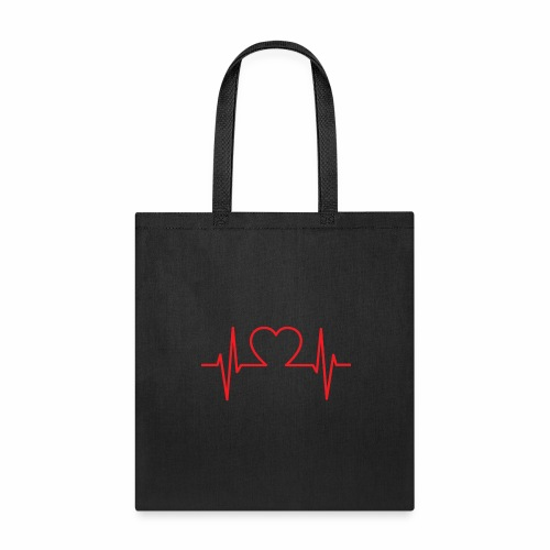 blood pressure love - Tote Bag