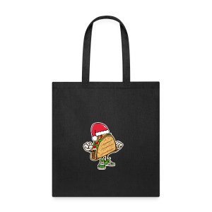 Taco Santa Hat Shirt - Tote Bag