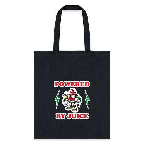 Powered by Juice Vegan design - Tote Bag