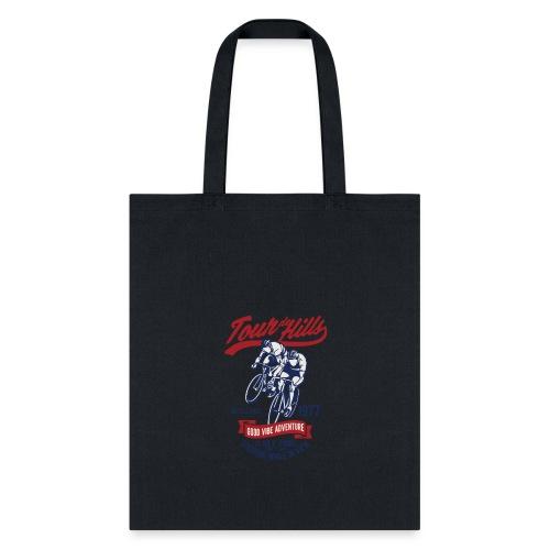 Tour de Hills - Tote Bag