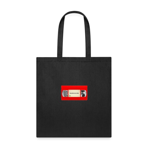 Red VHS Tape Logo - Tote Bag