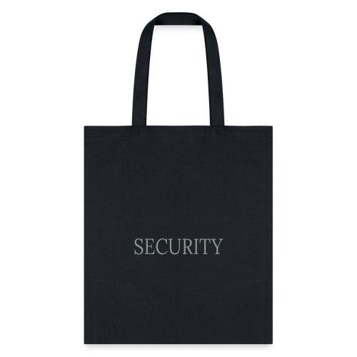 Security 11 - Tote Bag