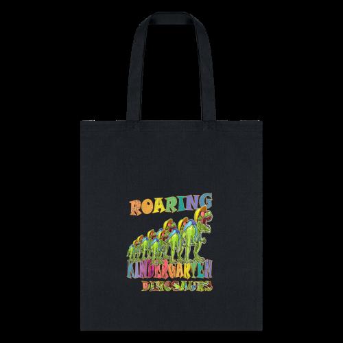 playRN | Roaring Kindergarten Dinosaur T-Shirt - Tote Bag