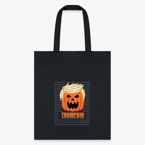 Halloween Trumpkin Funny T-Shirt - Tote Bag