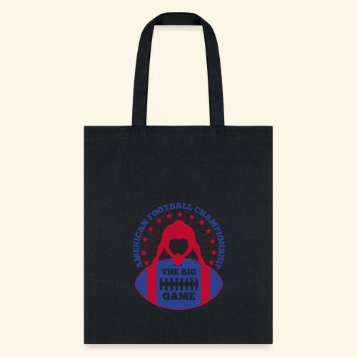 The Big Game American Football Championship - Tote Bag