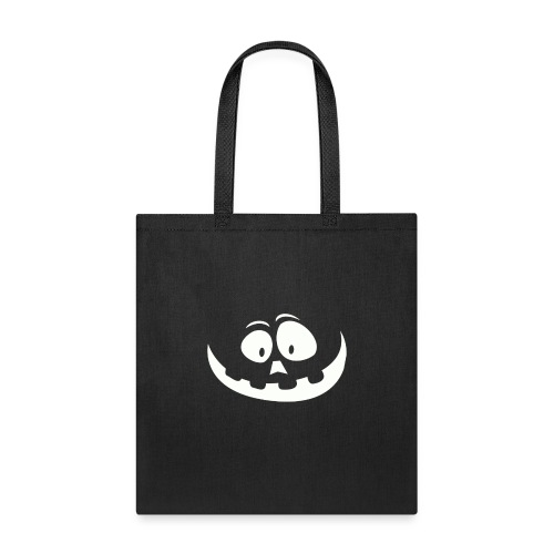 carved pumpkin white - Tote Bag