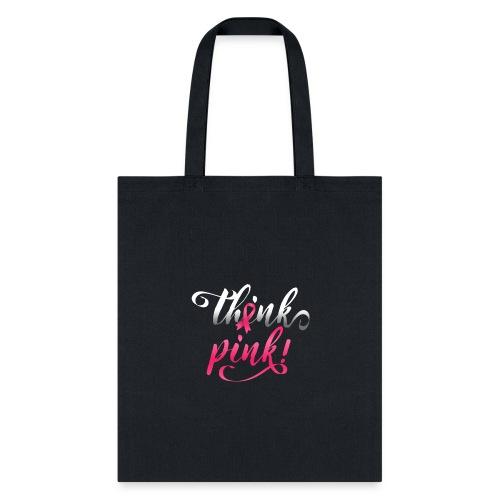 Pink Ribbon   Breast Cancer Awareness - Tote Bag