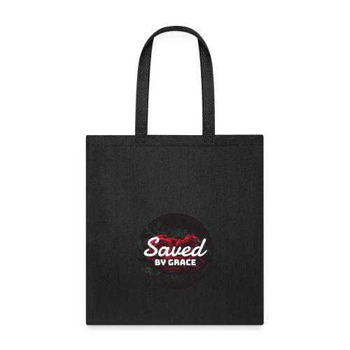 Saved by grace T - SHIRT - Tote Bag