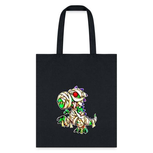 Halloween Mummy Trex - Tote Bag