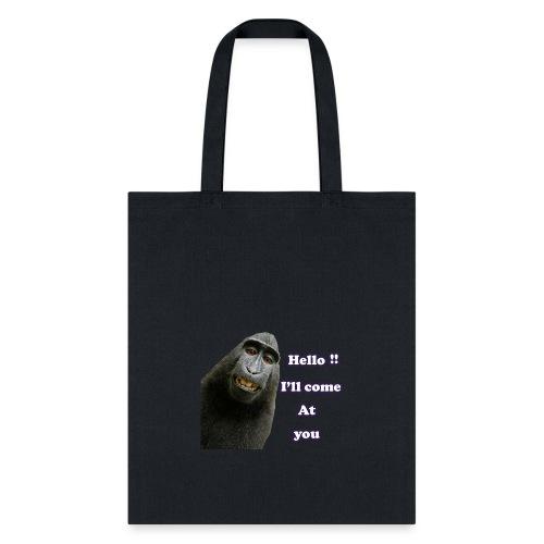 Monkey t-shirt - Tote Bag