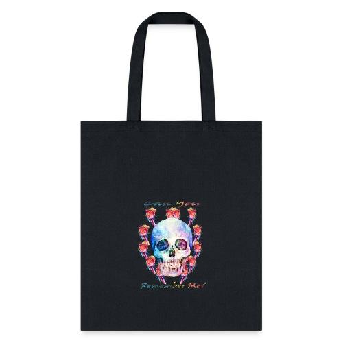 Watercolor skull art - Tote Bag
