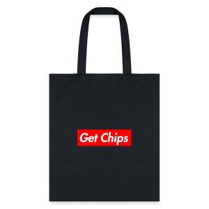 Get Chips Black - Tote Bag