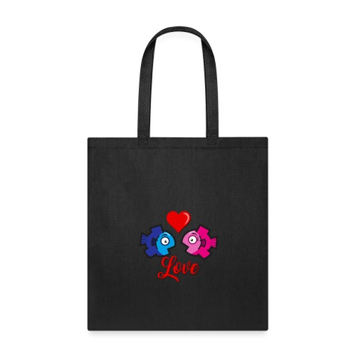 Love under the sea - Tote Bag