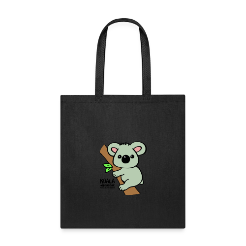 Koala Cute. Art by Paul Bass, assisted by Mollie. - Tote Bag