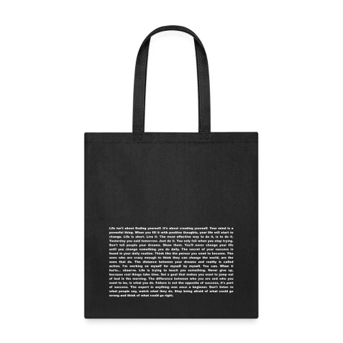 Ultimate Motivation T-Shirt - Inspiration - Tote Bag