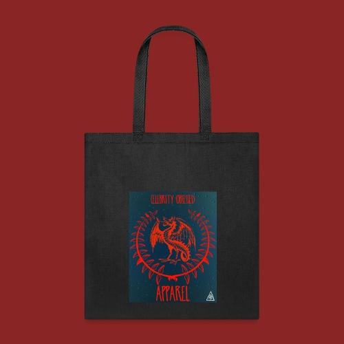 Flaming Red Dragon - Tote Bag
