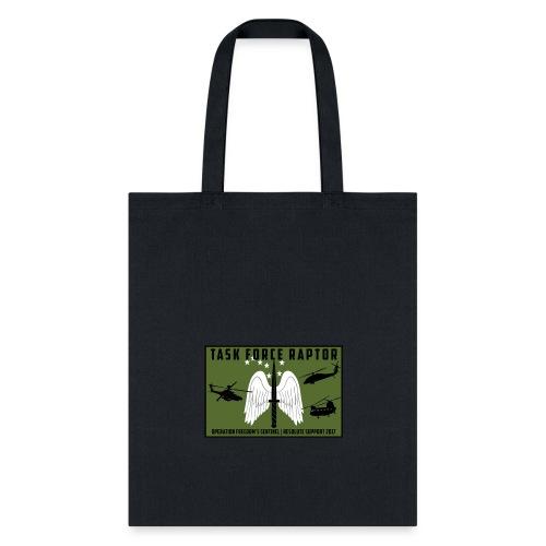 TF Raptor OD Green Patch - Tote Bag