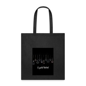 Crystal addict logo - Tote Bag