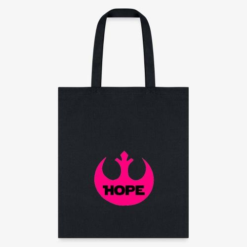 Hope- Pink Rebel - Tote Bag
