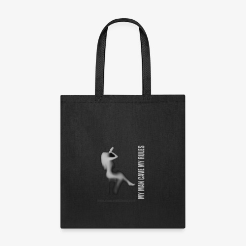 Man Cave Hideout making the rules - Tote Bag