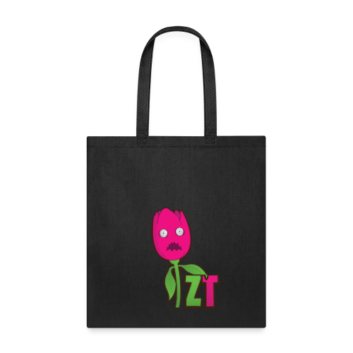 Scared ZombieTulip Shirt - Tote Bag