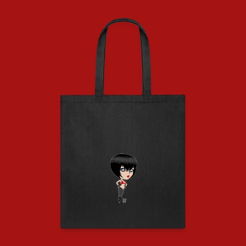 Mini Munchkin Scarlett Black - Tote Bag