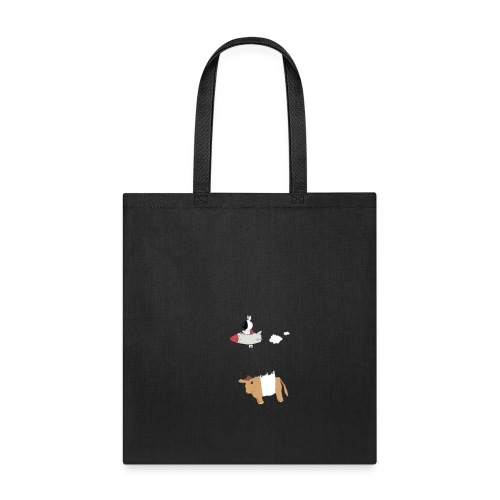 Space bunny with take out - Tote Bag