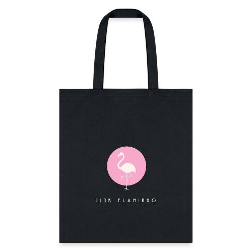 Pink Flamingo Logo White - Tote Bag