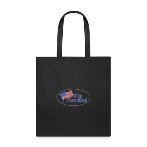 I'm Terrified by Trump - Tote Bag