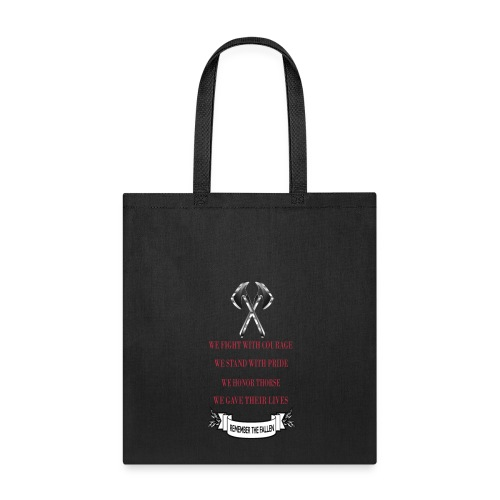 Remember The Fallen - Tote Bag