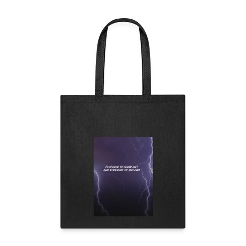 Subscribe to my channels Lighting Bolt - Tote Bag