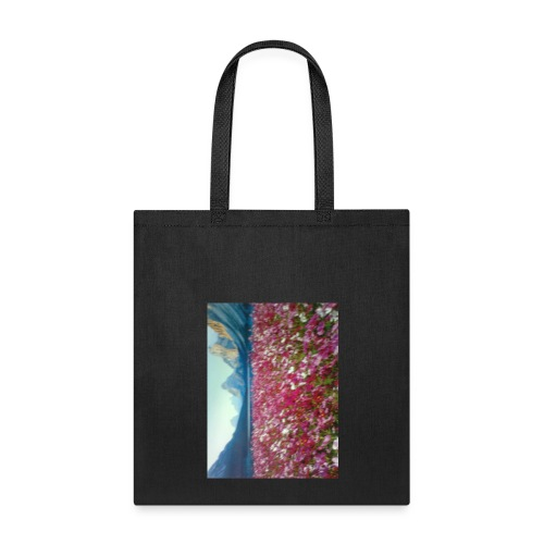 Mountains and Flower - Tote Bag