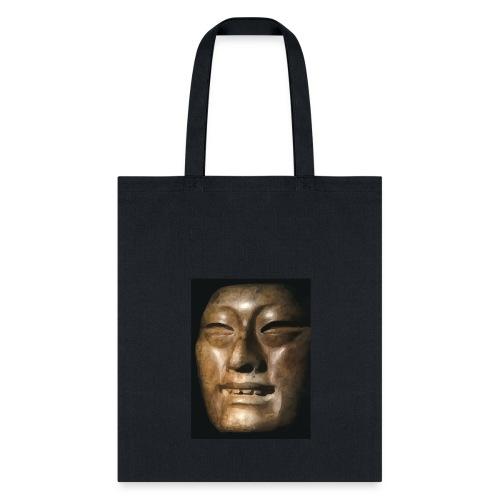 Mask of Olmec Asiatic - Tote Bag