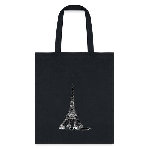 Eiffel Tower t-shirt - Tote Bag