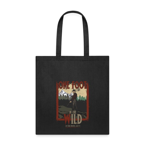 One Foot in the Wild Vintage Novel Gear - Tote Bag