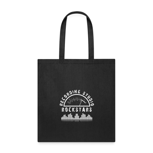 Recording Studio Rockstars - White Logo - Tote Bag